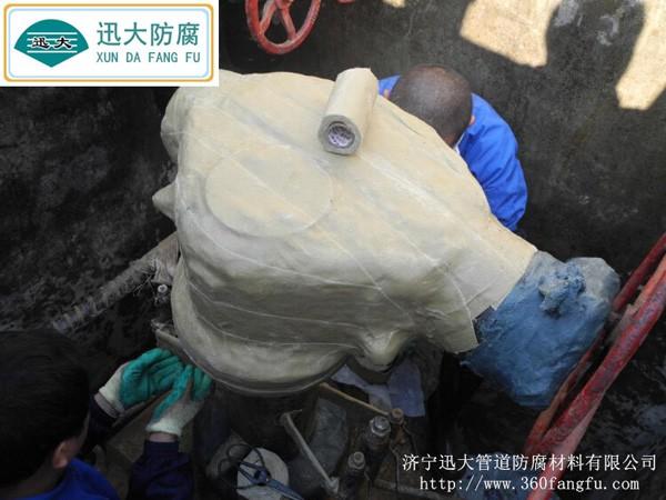 矿脂油防腐胶带施工图例